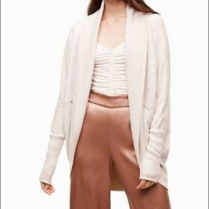 Aritzia Wilfred Diderot cardigan sweater